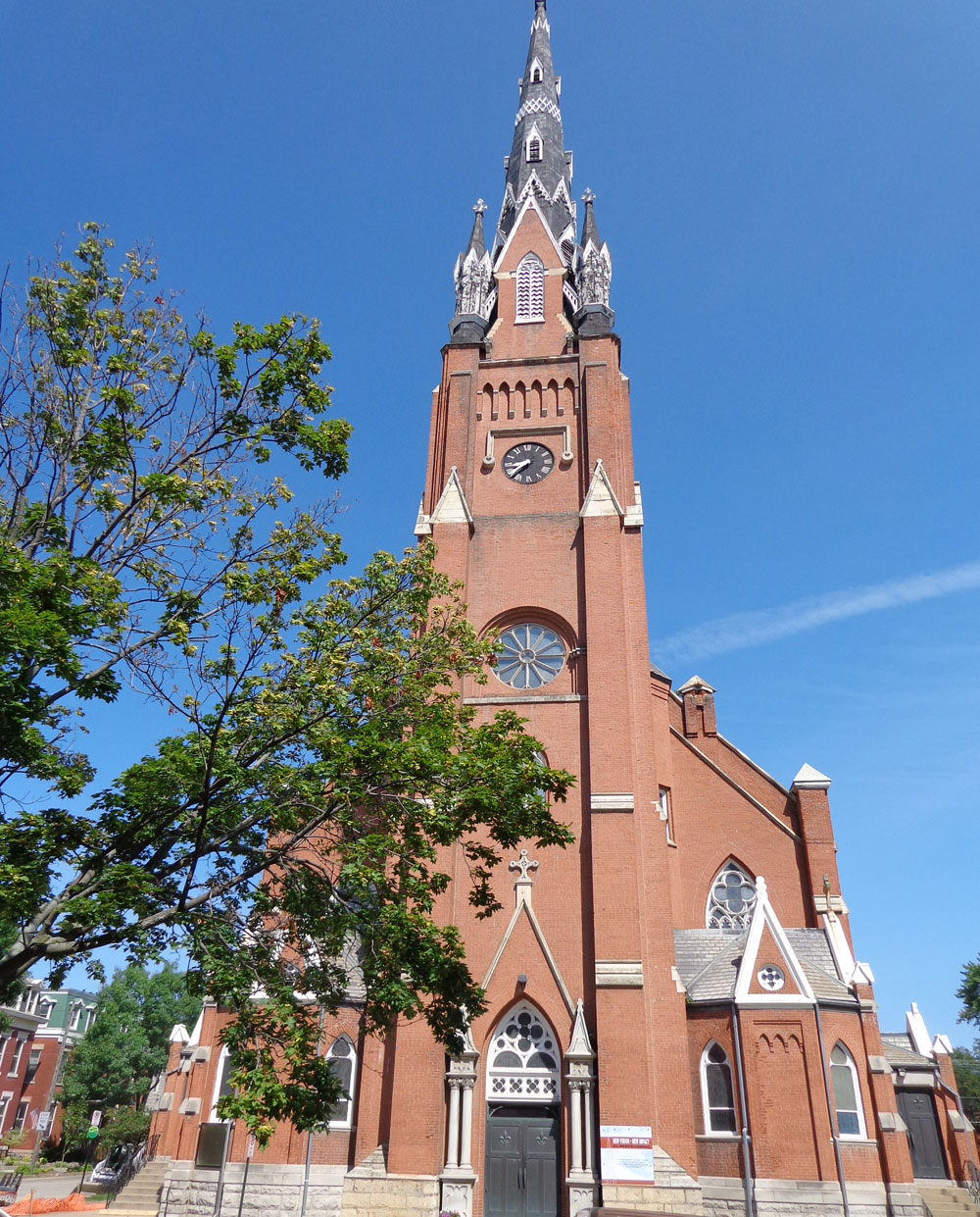 Former St. Mary's Church - Steeple Square - Dubuque, Iowa