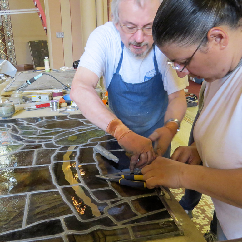Steeple Square: A Glass Act in Former Dubuque Church