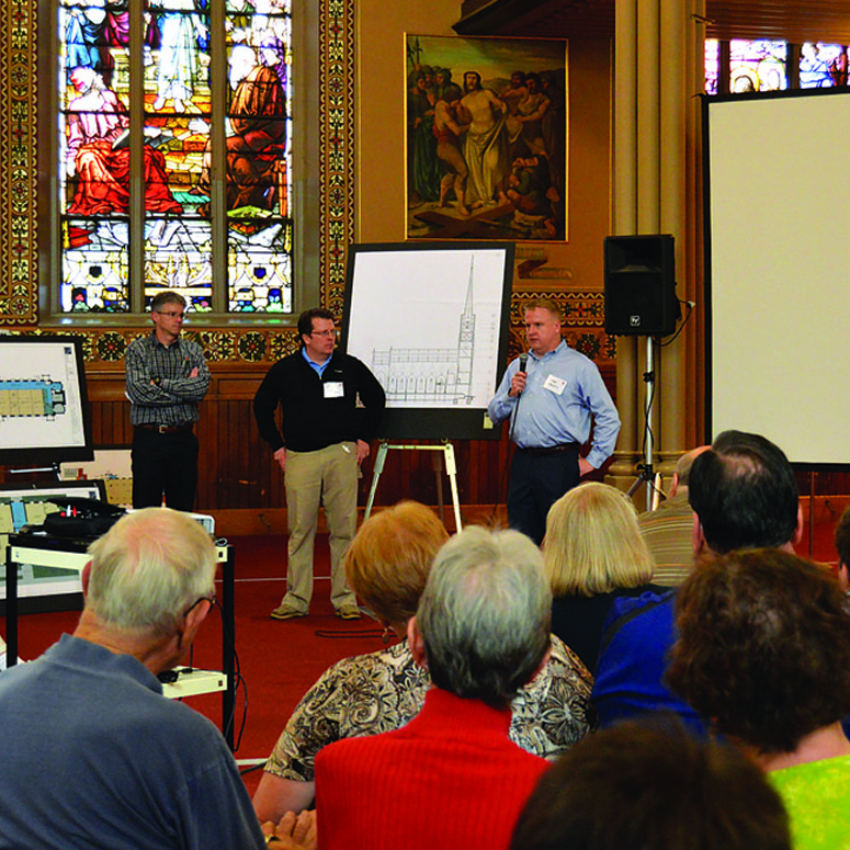 Steeple Square: Dubuque community introduced to Steeple Square