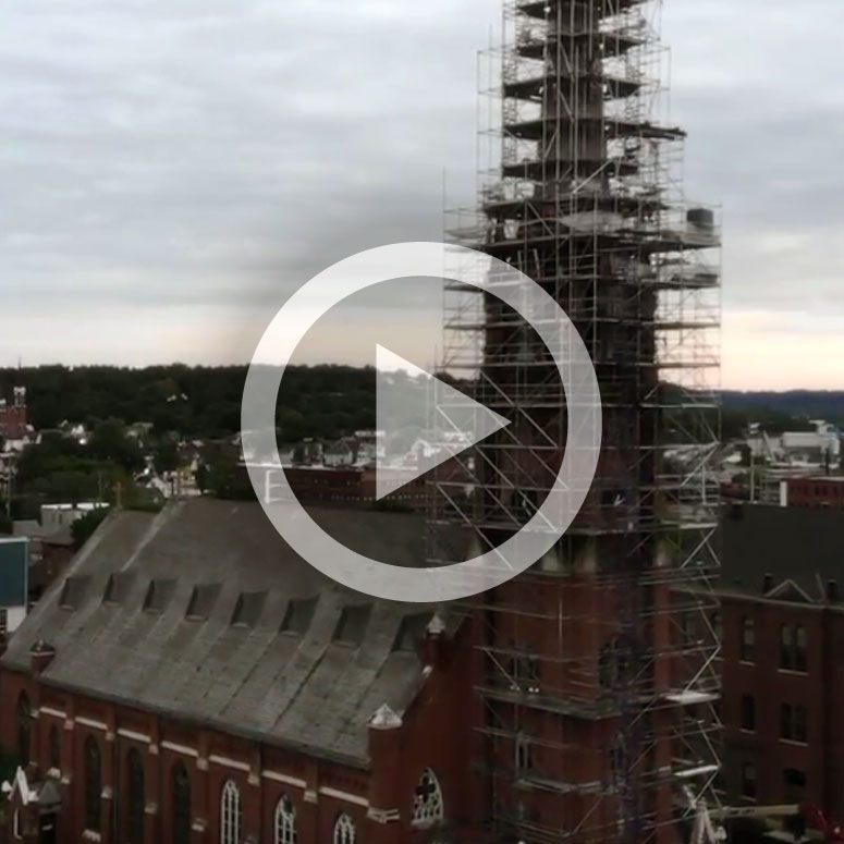 VIDEO: The Inspiring Steeple Restoration at Steeple Square