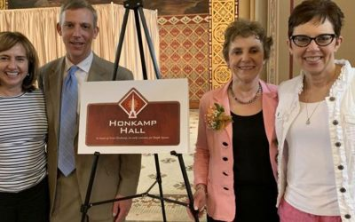 "Steeple Square Names Hall After Founding Board Member, ""Visionary"""